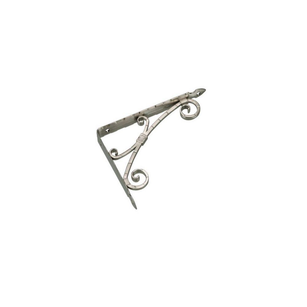 Richelieu Hardware Traditional BP9543206900 9543 Decorative False Hinge for Barn Door Forged Iron Matte Black Finish