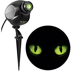 Projection de spectacle lumineux-EyeScreams-Yeux de chat qui clignent (Firefly)