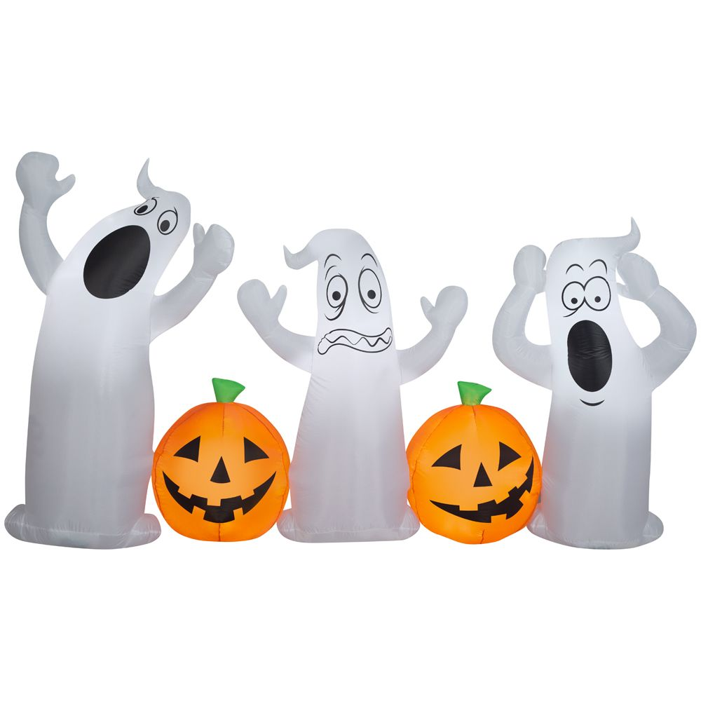 HAL Airblown-Pumpkin and Ghost Collection Scene 222154