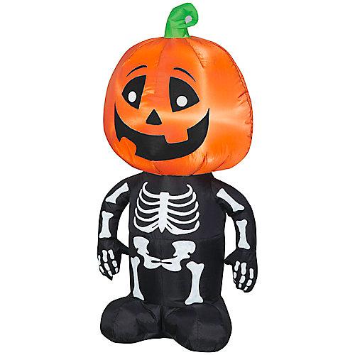 Airblown-Happy Pumpkin Boy Skeleton-SM