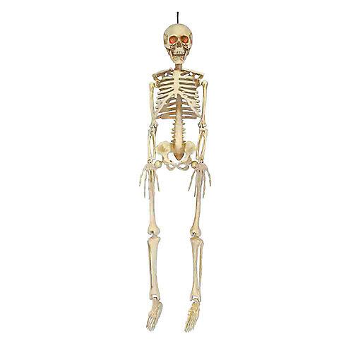 36in. LED Hanging Skeleton