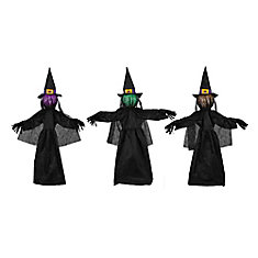 3 Pack LED Witch Pathway Markers