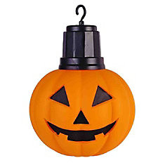 14 inch LED Hanging Pumpkin with Timer