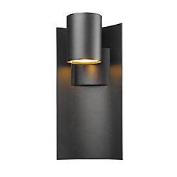 Filament Design Applique murale d'extérieur noire à 1 lumière, 5,13 po