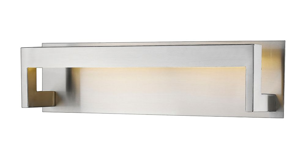 Filament Design 1-Light Brushed Nickel Bath Vanity With