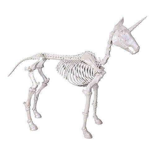 5 ft. LED Skeleton Unicorn