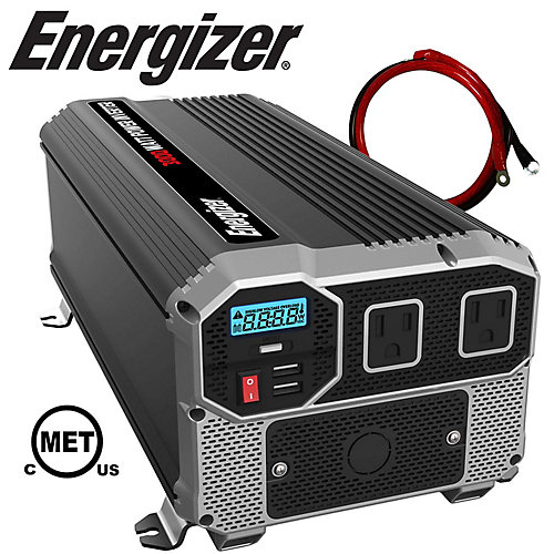 3000 Watt 12V DC to 120V AC Power Inverter