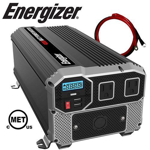 Energizer 4000 Watt 12V DC to 120V AC Power Inverter