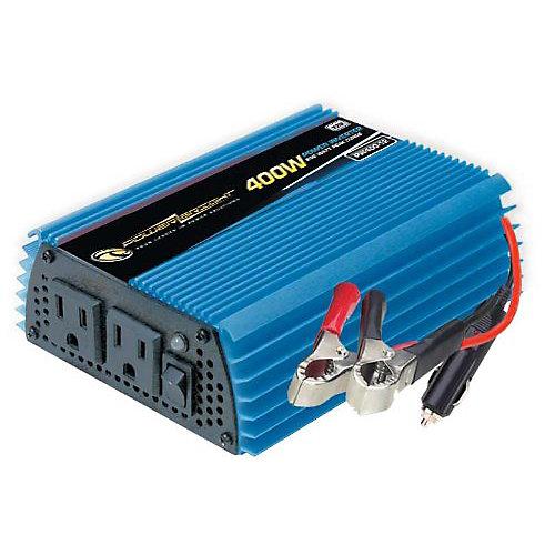 400 Watt 12V DC to 120V AC Power Inverter