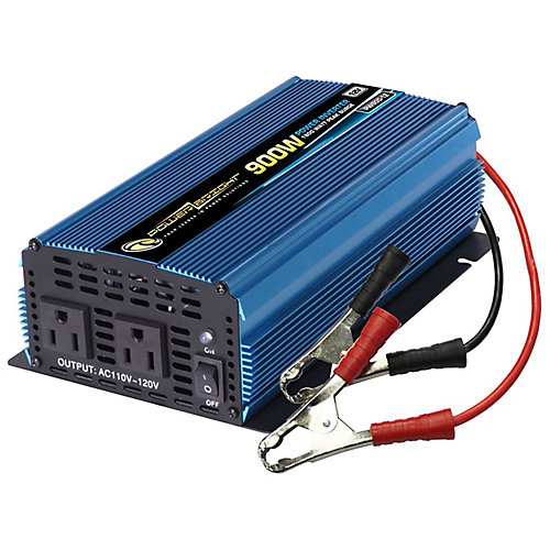 900 Watt 12V DC to 120V AC Power Inverter