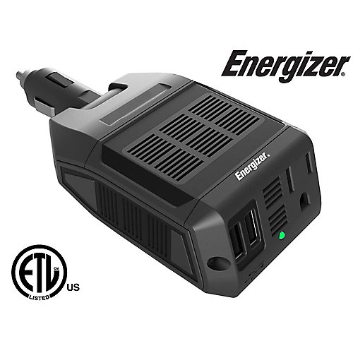 100 Watt 12V DC to 120V AC Power Inverter