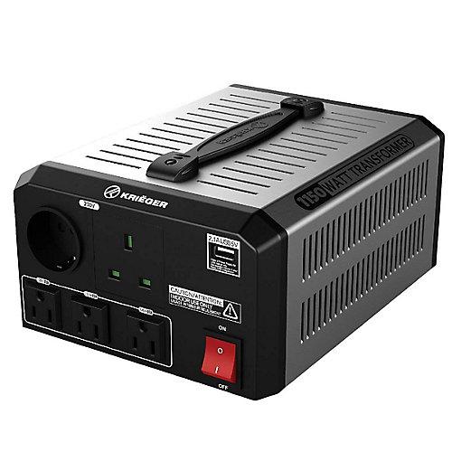 1150 Watt voltage converter/transformer 120V to/from 220V-240V