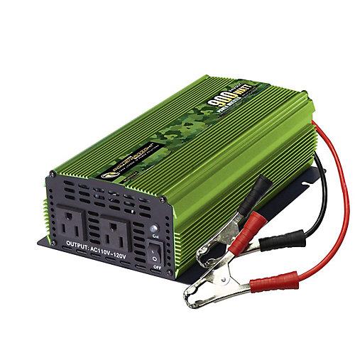 900 Watt 24V DC to 120V AC Power Inverter