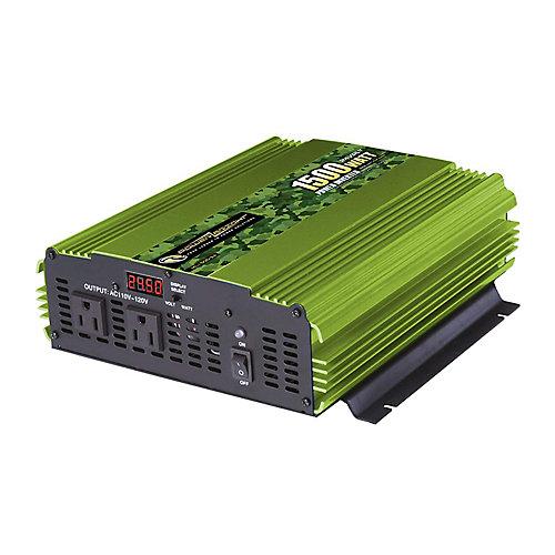 1500 Watt 24V DC to 120V AC Power Inverter