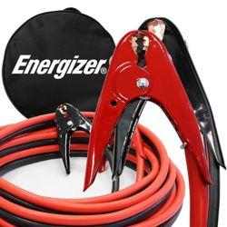 Energizer Câbles de démarrage professionnels de calibre 2, 6,1 m (20 pi) et 800 ampères