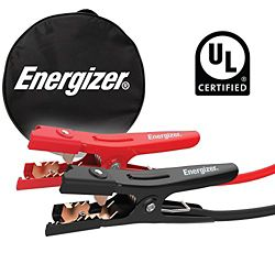 Energizer 6 gauge 16 foot 500 Amp professional UL certified jumper booster cables