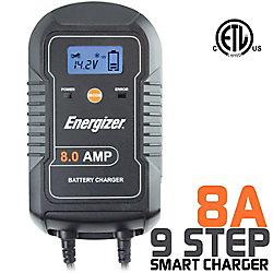 Energizer Battery Charger 6V / 12V batteries - 8A