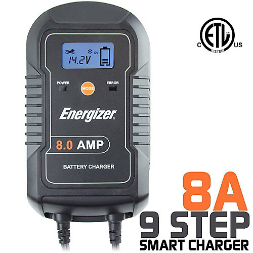 Battery Charger 6V / 12V batteries - 8A