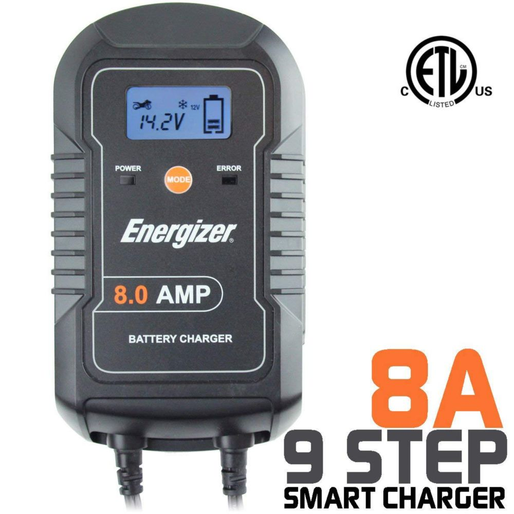 Energizer Battery Charger 6V / 12V batteries - 8A