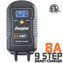Energizer Chargeur de batterie 6V / 12V -  8A
