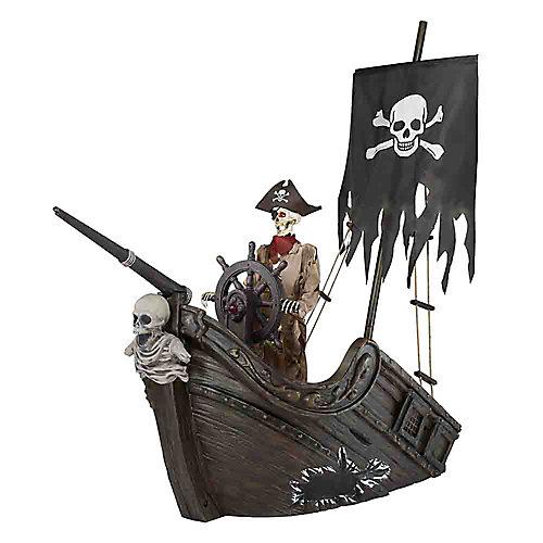 9.5 ft. AnimatedLED Pirate Ship