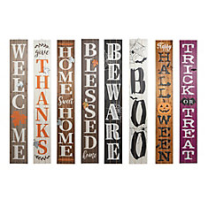 5 ft. Wooden Porch Sign