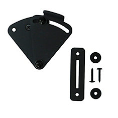 Sliding Barn Door Lock, Black
