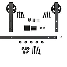 The Ferris Wheel Kit - Visible Hardware for Barn-Style Sliding Wood Doors