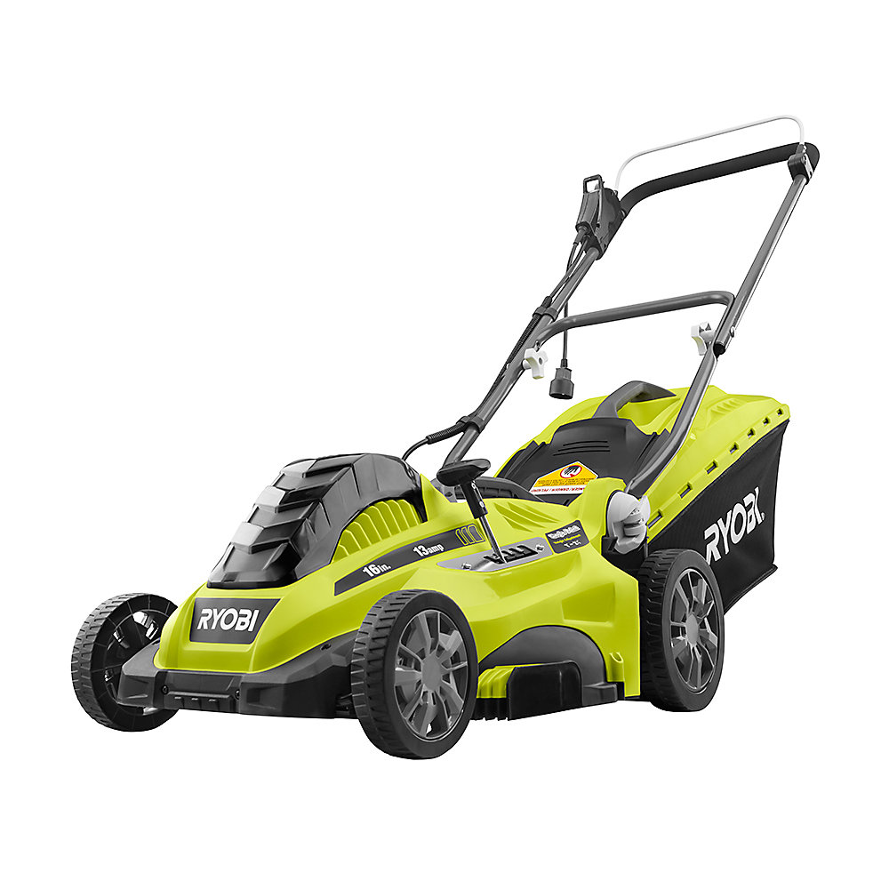 16 inch 13 Amp Corded Electric Walk Behind Push Mower
