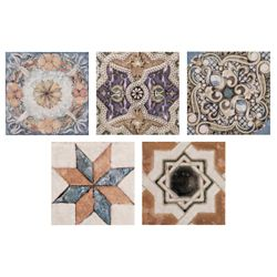 Merola Tile Avila Arenal Taco 2-3/4-inch x 2-3/4-inch Ceramic Floor and Wall Trim Tile (1.22 lft / case)