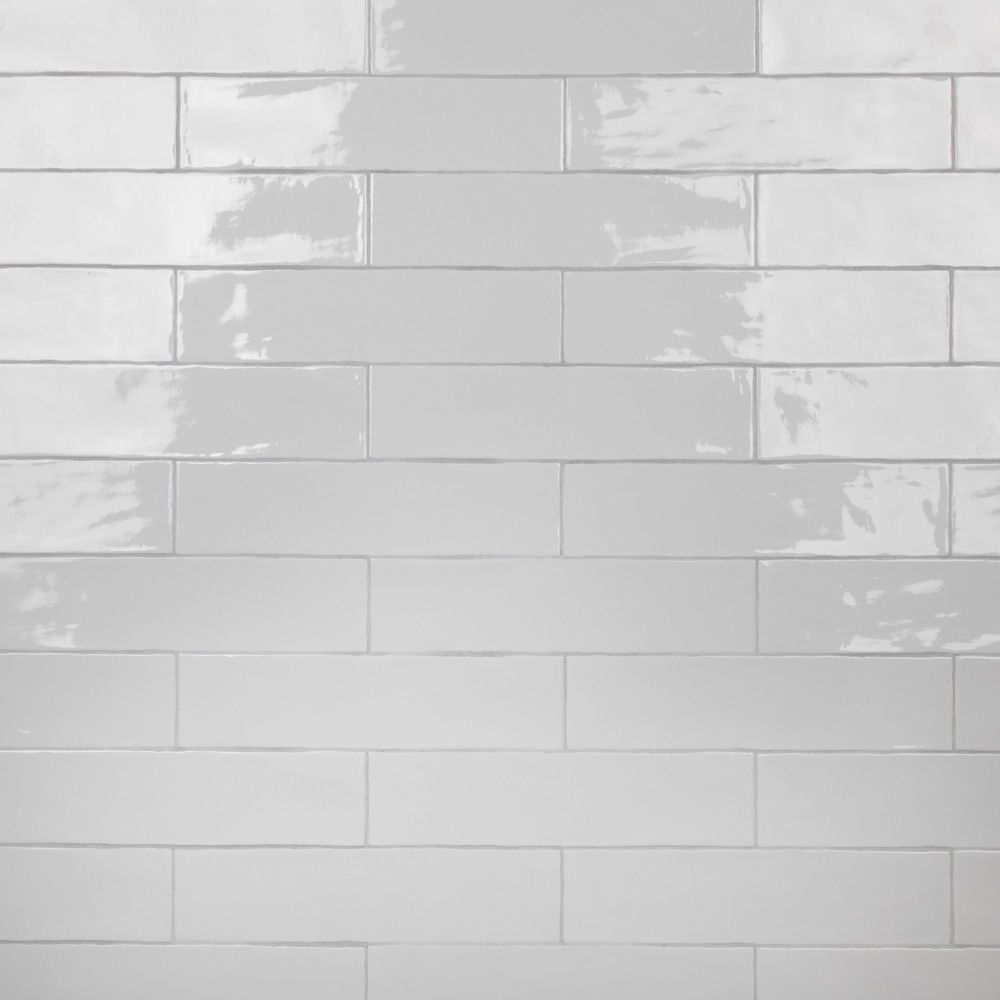 Merola Tile Chester Bianco 3-inch x 12-inch Ceramic Wall Tile (5.5 sq. ft. / case)