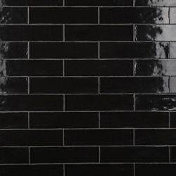 Merola Tile Chester Nero 3-inch x 12-inch Ceramic Wall Tile (5.5 sq. ft. / case)