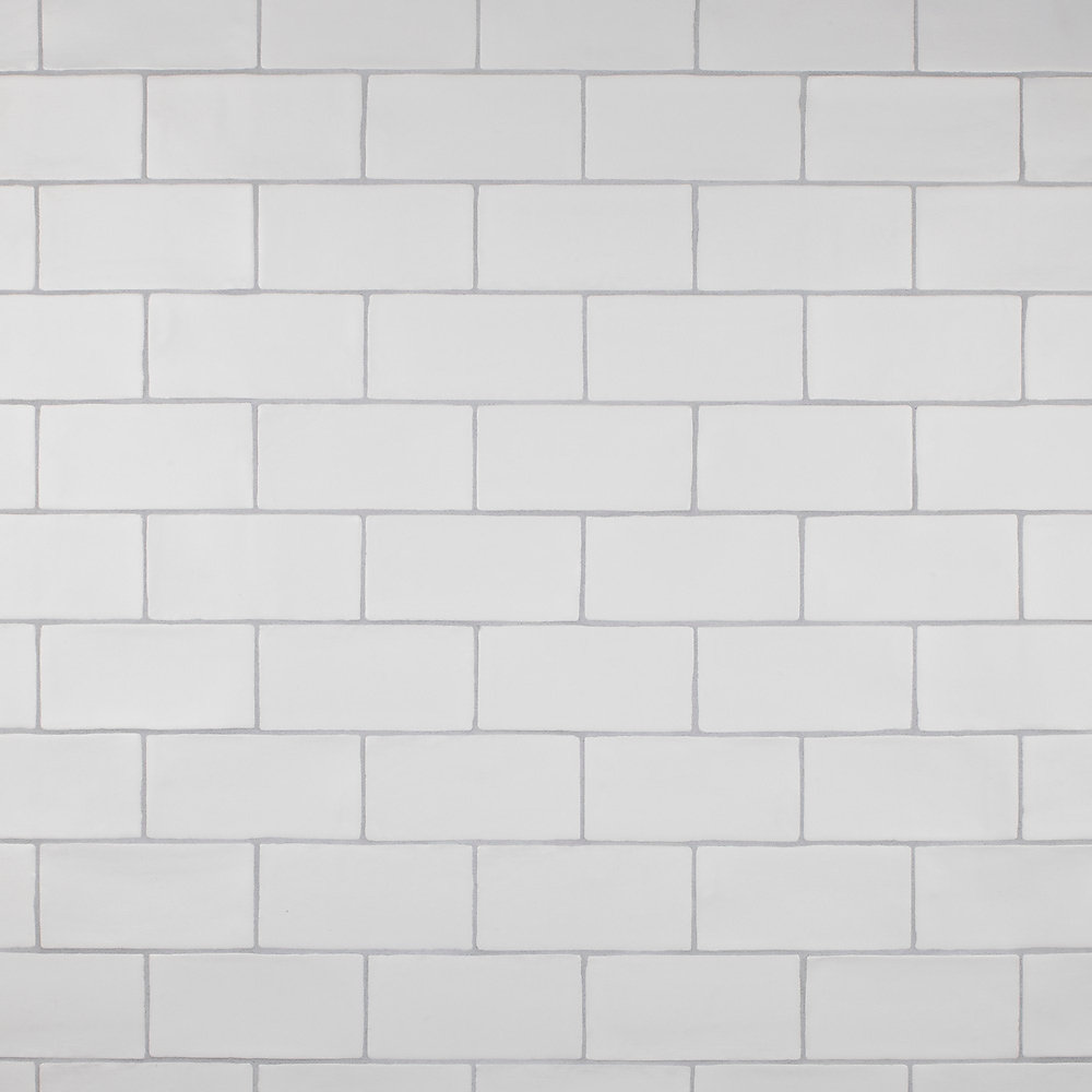 Chester Matte Bianco 3-inch x 6-inch Ceramic Wall Tile (5.5 sq. ft. / case)
