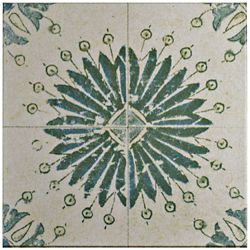 Merola Tile Klinker Retro Blanco Aster 12-3/4-inch x 12-3/4-inch Ceramic Floor and Wall Quarry Tile (7.04 sf/ca)