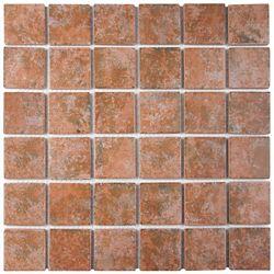 Merola Tile Colorado Quad Pueblo 12-1/2-inch x 12-1/2-inch x 5 mm Porcelain Mosaic Tile (11.07 sq. ft. / case)