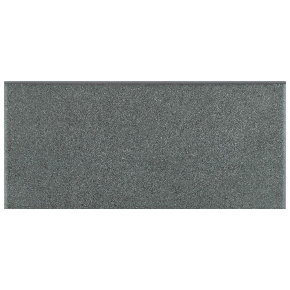 Merola Tile Twenties Black 3 1 2 Inch X 7 3 4 Inch Ceramic