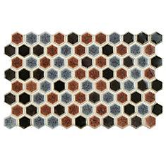 Carreau mur et sol en porcelaine 5 1/2 po x 9 po Casella Bruno (7,39 pi2/bte)