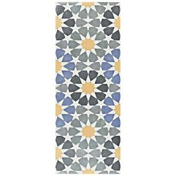 Merola Tile Artline Star 5-7/8-inch x 15-3/4-inch Ceramic Floor and Wall Tile (10.89 sq. ft. / case)