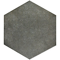 Vintage Hex Marengo 8-5/8-inch x 9-7/8-inch Porcelain Floor and Wall Tile (11.56 sq. ft. / case)