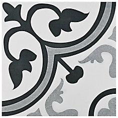 Amberes Classic 12-3/8-inch x 12-3/8-inch Ceramic Floor and Wall Tile (10.96 sq. ft. / case)