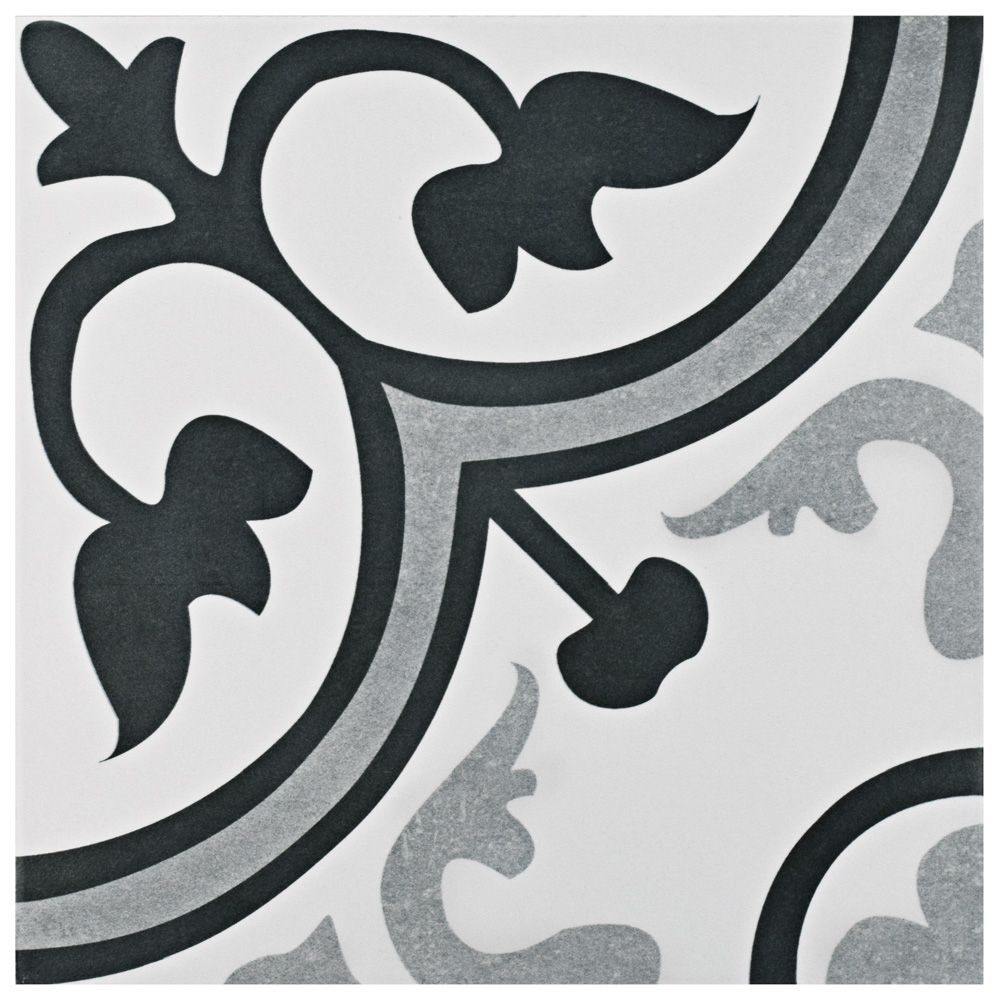 Merola Tile Amberes Classic 12-3/8-inch x 12-3/8-inch Ceramic Floor and Wall Tile (10.96 sq. ft. / case)
