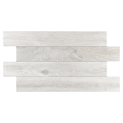 Jimki Nordico 12-1/4-inch x 23-5/8-inch Porcelain Floor and Wall Tile (16.58 sq. ft. / case)