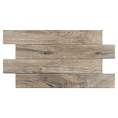 Jimki Roble 12-1/4-inch x 23-5/8-inch Porcelain Floor and Wall Tile (16.58 sq. ft. / case)