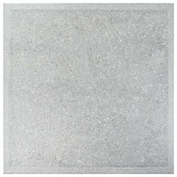 Merola Tile Geo Gris 19-3/4-inch x 19-3/4-inch Ceramic Floor and Wall Tile (16.67 sq. ft. / case)