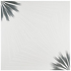 Pisa Blanco 17-3/4-inch x 17-3/4-inch Ceramic Floor and Wall Tile (21.85 sq. ft. / case)