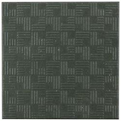 Merola Tile Carreau mur et sol en porcelaine 6 po x 6 po Area 15, graphite (11,94 pi2/bte)