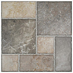 Figueres Magma 17-3/4-inch x 17-3/4-inch Ceramic Floor and Wall Tile (18 sq. ft. / case)