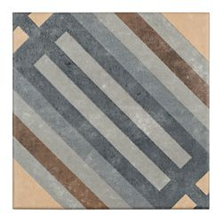 Merola Tile Europe Rail 7-inch x 7-inch Porcelain Floor and Wall Tile (10.95 sq. ft. / case)