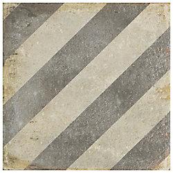 Merola Tile D'Anticatto Decor Obliqua 8-3/4-inch x 8-3/4-inch Porcelain Floor and Wall Tile (11.25 sq.ft./ case)