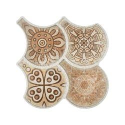 Merola Tile Scala Granada Nature Decor 14-1/2-inch x 16-1/8-inch Porcelain Floor and Wall Tile (14.27 sqft/case)